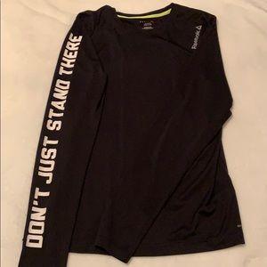 Reebok black workout shirt